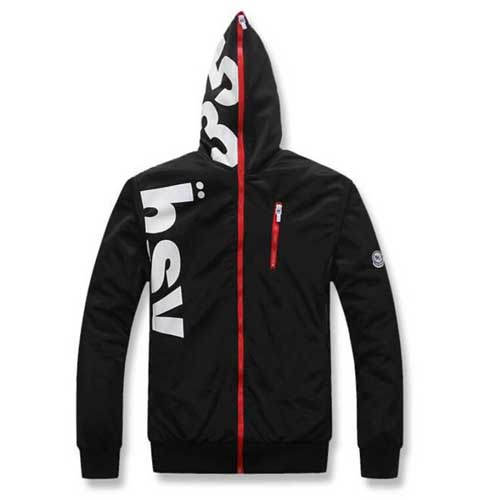 Fleece Lining Hoodies Male Coat Image 1