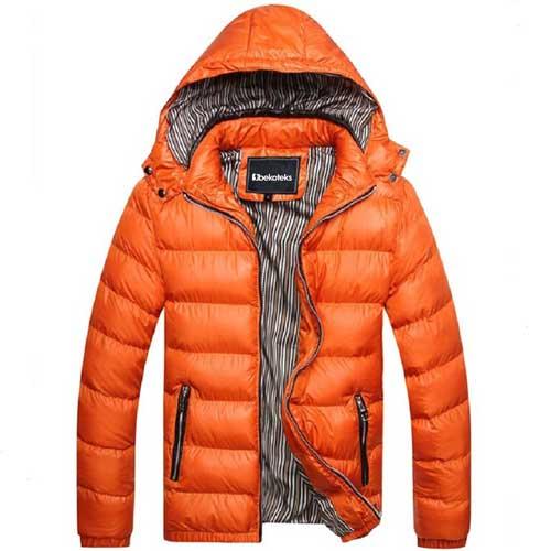 Plus Size Mens Winter Jacket
