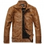 Motorcycle Leather Mens Jacket
