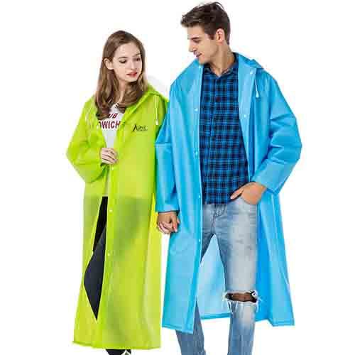 Long Raincoat Knee Length