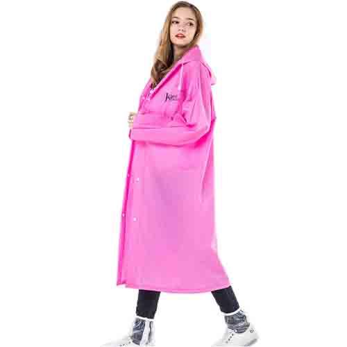 Long Raincoat Knee Length Image 1