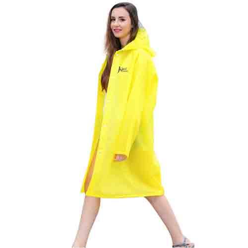 Long Raincoat Knee Length Image 2
