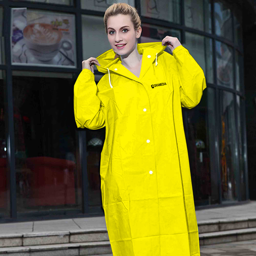 Women Transparent Raincoat