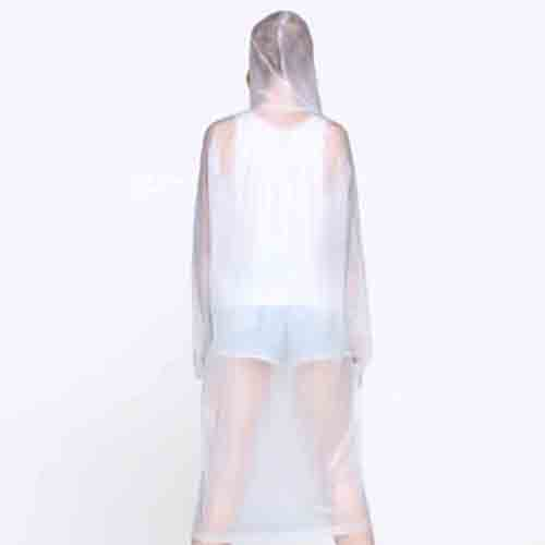 Women Transparent Raincoat Image 2