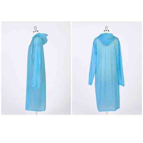 Women Transparent Raincoat Image 4