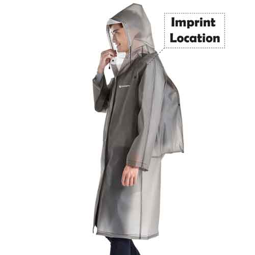 Traveling Multifunctional Raincoat Imprint Image