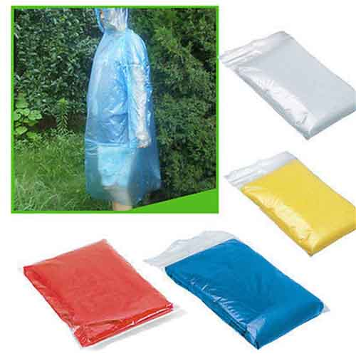 Disposable Adult Emergency Raincoat Image 4