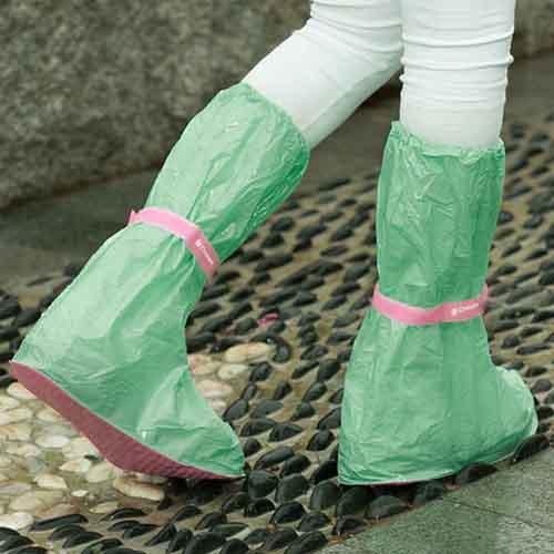 Emergency Raincoat 10 Pieces Image 3