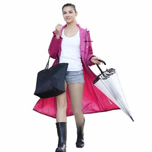 Women Men Impermeable Raincoat Image 1
