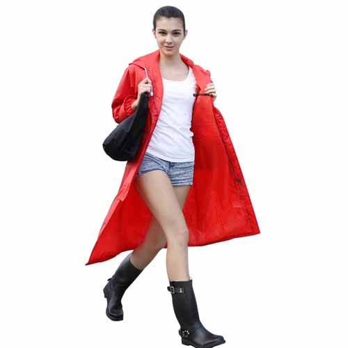 Women Men Impermeable Raincoat Image 2