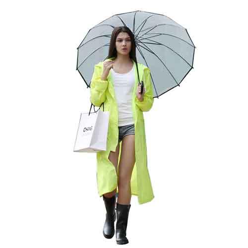 Women Men Impermeable Raincoat Image 3