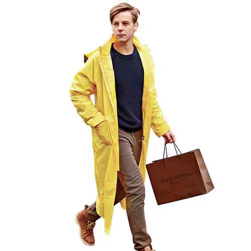 Women Men Impermeable Raincoat Image 4
