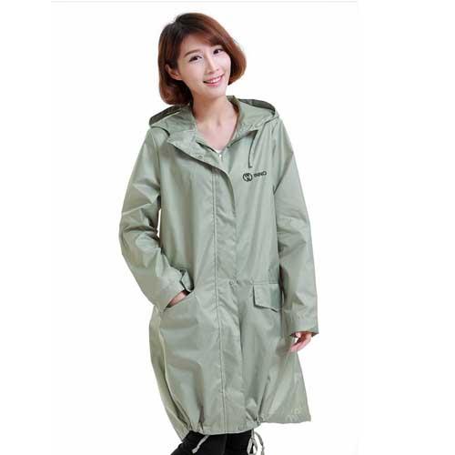 Ladies Rain Jacket Breathable Image 2