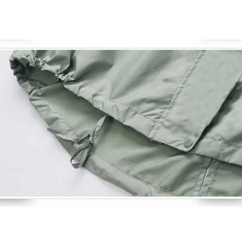 Ladies Rain Jacket Breathable Image 4