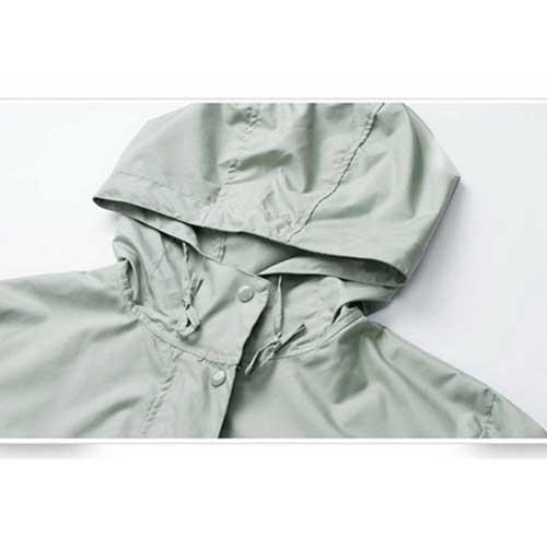 Ladies Rain Jacket Breathable Image 6