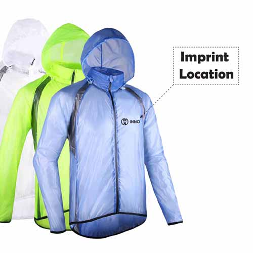 Outdoor Sports Proof Men Rain Pack Imprint Image