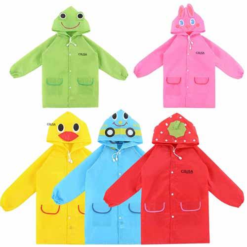 Kids Waterproof Raincoat Image 1