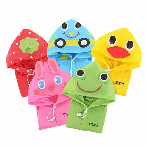 Kids Waterproof Raincoat Image 2