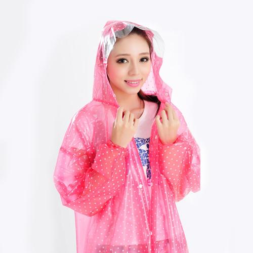 Women Fashion Style Rain Coat  Image 4