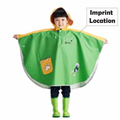 Thicker Funny Cartoon Rainwear  Imprint Image