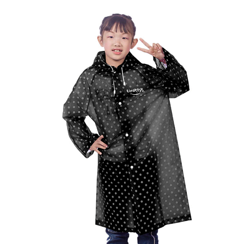Childrens Woman Raincoat Rainwear