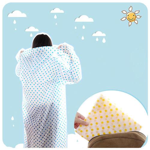 Childrens Woman Raincoat Rainwear Image 1