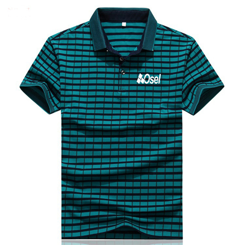 Cotton Solid Mens Polo Shirt Image 1