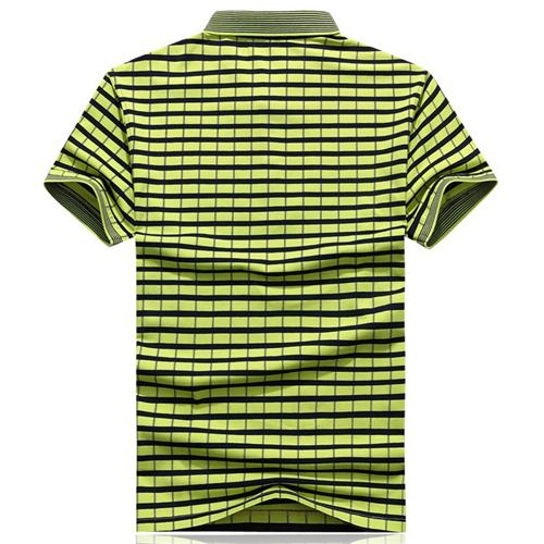 Cotton Solid Mens Polo Shirt Image 3