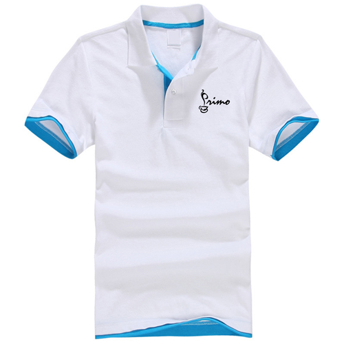 Mesh Pique Cotton Polo Shirt