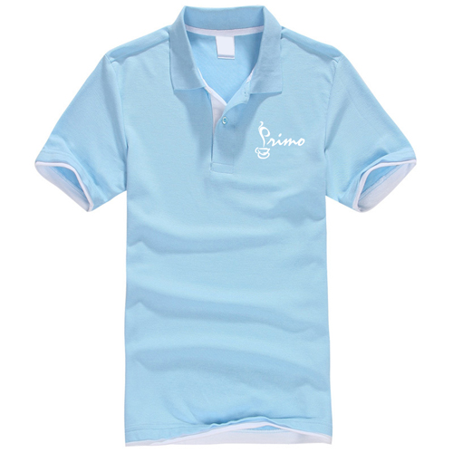 Mesh Pique Cotton Polo Shirt Image 1