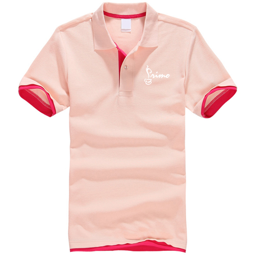 Mesh Pique Cotton Polo Shirt Image 2