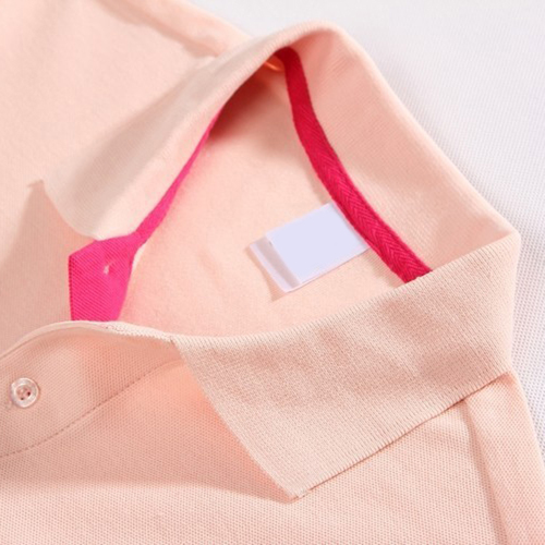 Mesh Pique Cotton Polo Shirt Image 3
