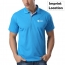Contrast Placket Polo Shirt Imprint Image