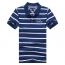 Classic Striped Polo Shirt Image 4
