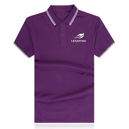 Striped Collar Polo Shirt Image 2