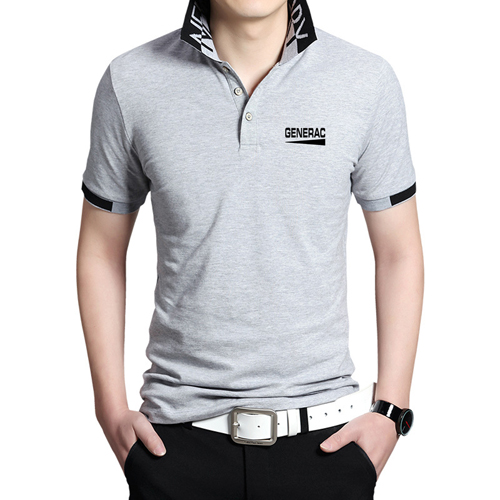 Fashion Logo Collar Polo Shirt