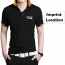 Fashion Logo Collar Polo Shirt Imprint Image