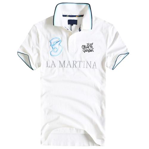 Breathable Cotton Polo Shirt Image 1