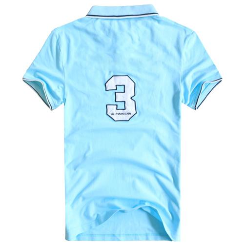 Breathable Cotton Polo Shirt Image 3