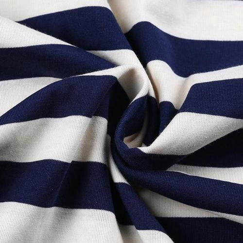 Stripe Cotton Short Sleeve Polo Shirt Image 3