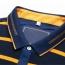 Mini Collar Striped Full Sleeve Mens T-Shirt Image 4