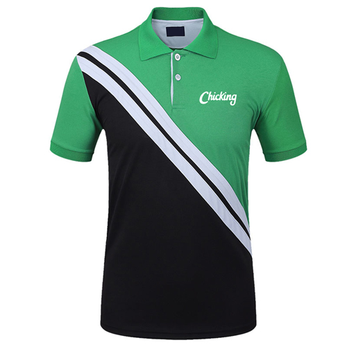 Quick-Dry Short-Sleeved Polo Shirt Image 2