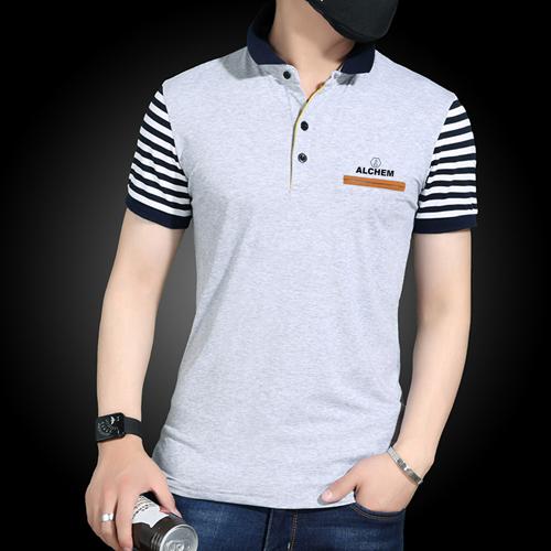 Slim Fit Striped Short Sleeve T-Shirt Image 1