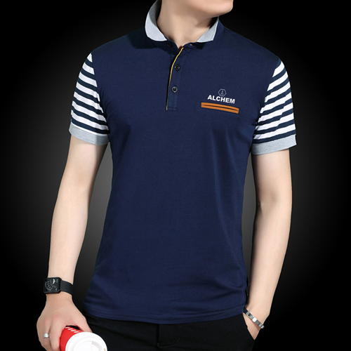 Slim Fit Striped Short Sleeve T-Shirt Image 2