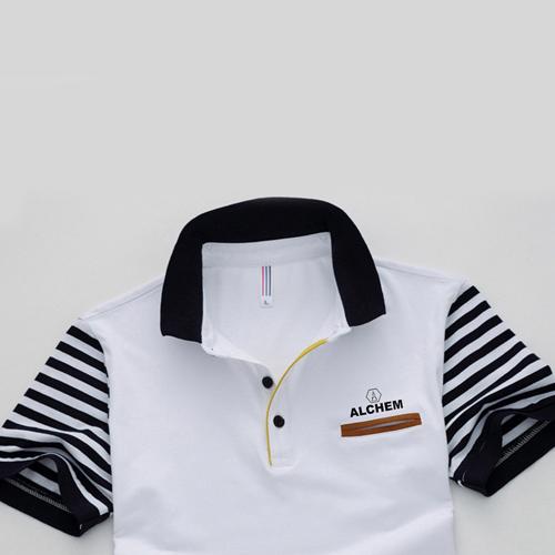 Slim Fit Striped Short Sleeve T-Shirt Image 4