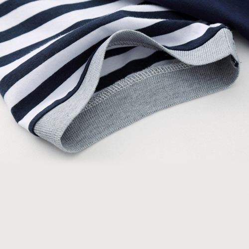 Slim Fit Striped Short Sleeve T-Shirt Image 5