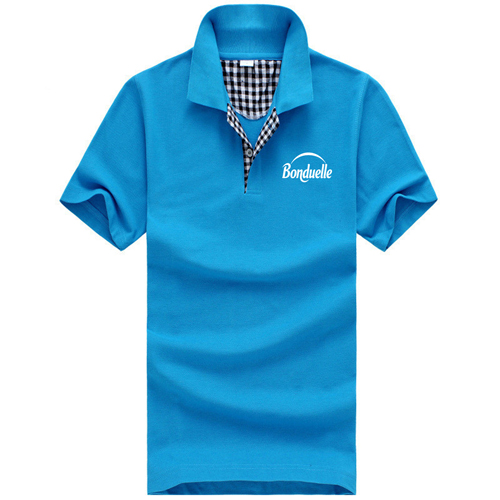 Mens Short Sleeve Polo T-Shirt Image 1