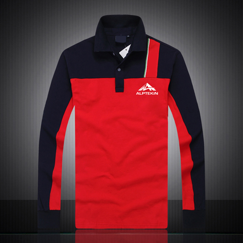 Air Force Long Sleeves Polo Shirt Image 2