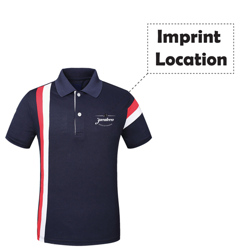 Quick Dry Customize Polo Shirt Imprint Image