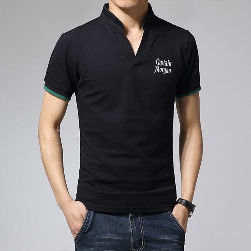Short Sleeve V Neck Casual Mens T Shirts Image 4